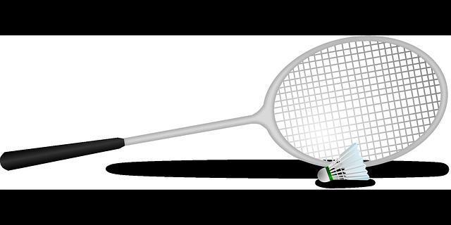 racket en shuttle